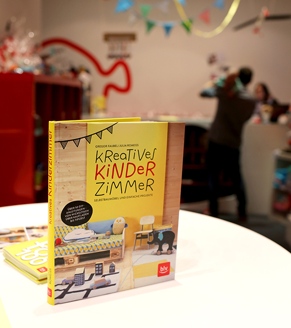 Kreatives Kinderzimmer, BLV-Verlagn, DIY-Autorin, Buchkonzept, Editorial Design
