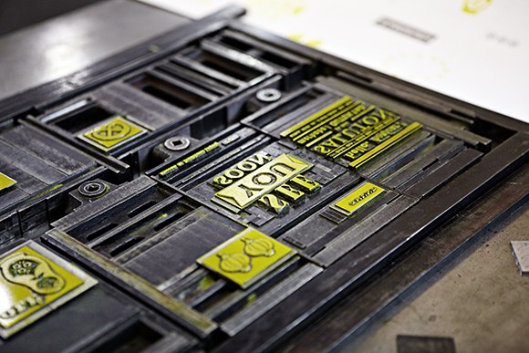 Kommunikationsmittel für die Papierfabrik Gmund, DRUPA